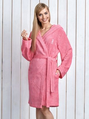 L&L Alba Różowy szlafrok damski