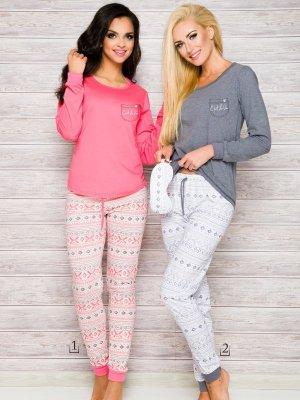 Taro Nora 2124 AW/17 K1 Różowa piżama damska