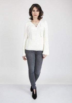MKM Kylie SWE 117 Ecru sweter