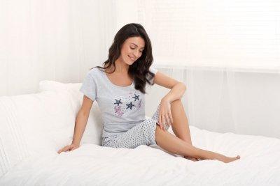 Pizama Holiday 677 Szara piżama damska