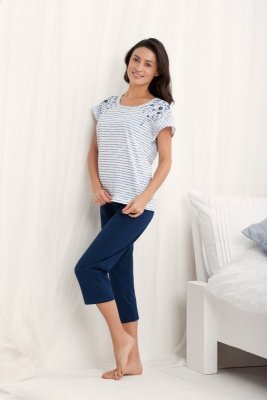 Luna Marika 569 Szara piżama damska