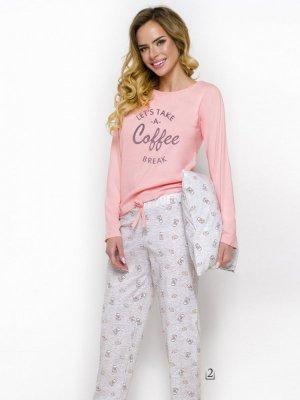 Taro Maja 2226 AW/18 K2 Różowa piżama damska