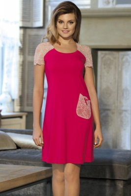 Babella Linet Jasny rubin koszula nocna