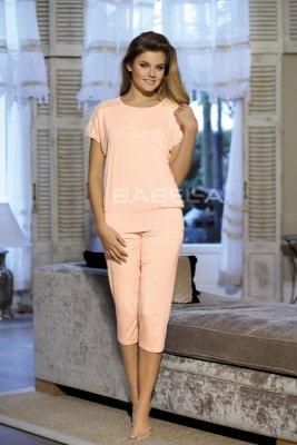 Babella Gracja Brzoskwiniowa piżama damska