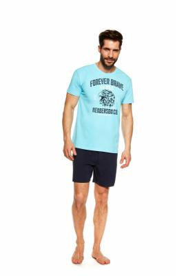 Henderson Justice 37121-50X Błękitno-granatowa piżama męska
