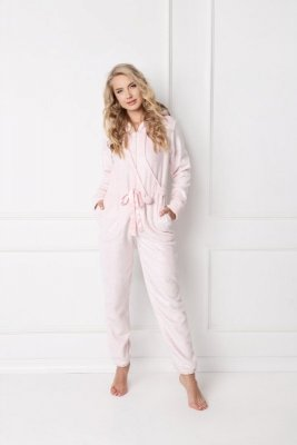 Aruelle Sparkly Onesie Pink piżama damska
