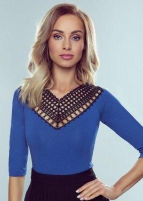 Eldar Georgia Niebieska bluzka damska