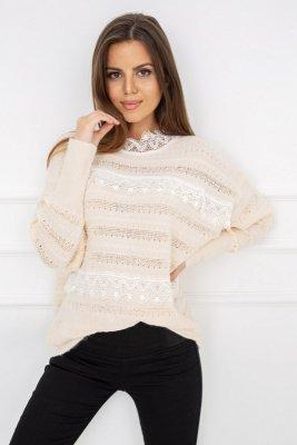 Vittoria Ventini Amanda Lace Powder Y5201 sweter damski