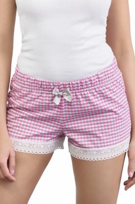 Babella Bella Pink 3122 damskie spodenki piżamowe