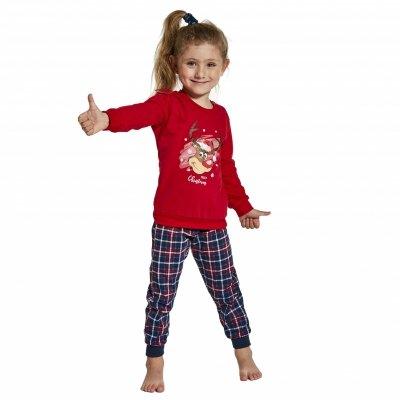 Cornette 594/130 Reindeer piżama dziewczęca