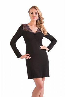 Donna Mery czarny Koszula nocna