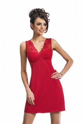 Donna Kristina czerwona Koszula nocna