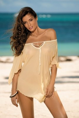 Tunika plażowa Marko Lily M-339 Nudo