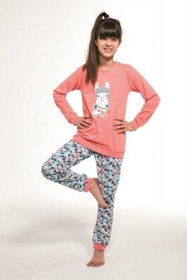 Cornette 353/115 Kids Llama Różowy Piżama dziewczęca