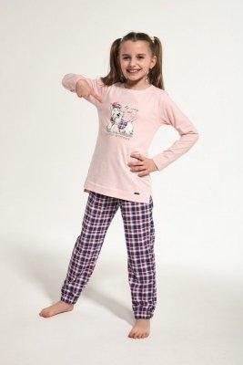 Cornette 780/113 Kids Scottie Różowy Piżama dziewczęca