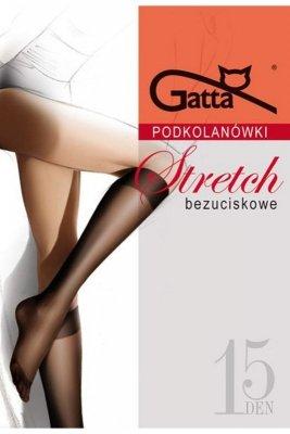 Gatta stretch golden podkolanówki