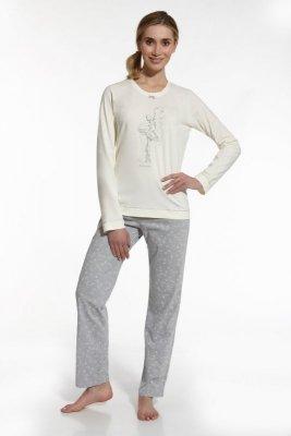 Cornette 655/39 So delicate beżowy piżama damska