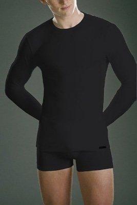 Cornette koszulka authentic 214 długi rękaw czarny