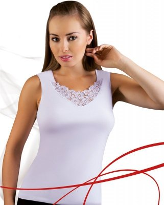 Emili Berta biały koszulka