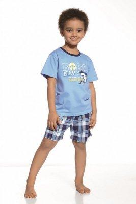 Cornette 789/30 Ahoy niebieski piżama chłopięca