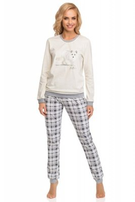 Cornette 683/55 Fox szary piżama damska