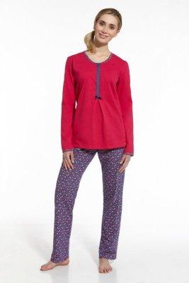 Cornette 674/44 Emma różowy jeans piżama damska