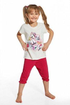 Cornette 586/42 Holiday ecru piżama dziewczęca