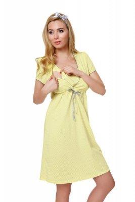 Italian Fashion Felicita żółty koszula nocna