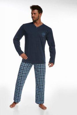 Cornette 124/67 ldn 2 granatowy piżama męska