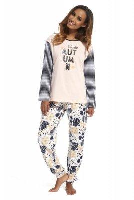 Cornette 685/133 Autumin różowy piżama damska