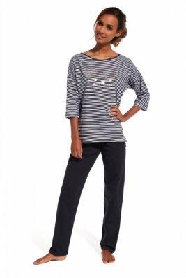 Cornette 144/135 Night sky grafitowy piżama damska