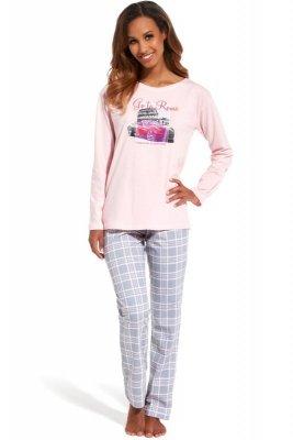 Cornette 655/126 Go to Rome różowy piżama damska