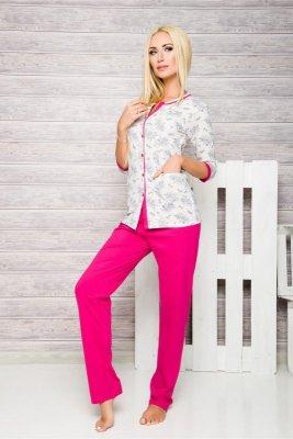 Taro Fabia 2126 fuksja piżama damska