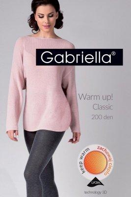 Gabriella 409 warm up 200 den melange rajstopy