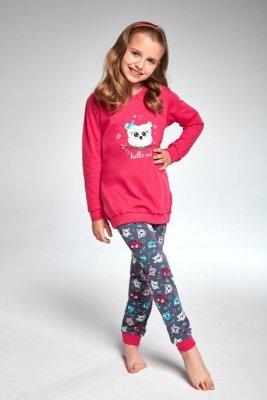 Cornette 978/103 young owl różowy piżama dziewczęca