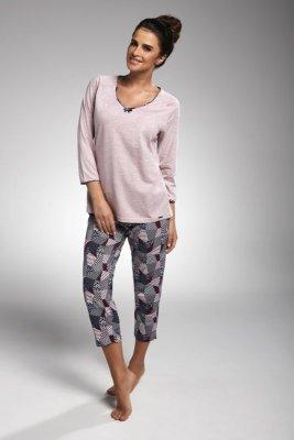 Cornette 162/176 Suzie różowy piżama damska