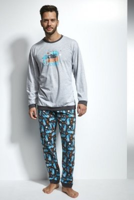 Cornette 115/105 Chameleon melanż piżama męska