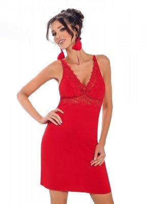 Donna Lily czerwona Koszula nocna