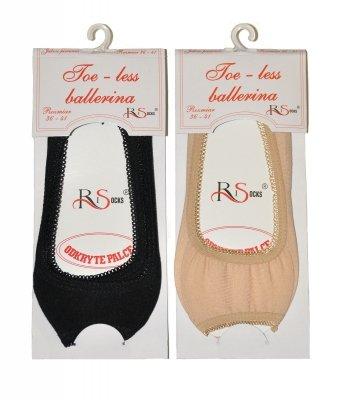 Balerinki Risocks Toe-less art.5692211 stopki