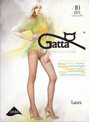 Gatta Laura 10 den 5-XL rajstopy