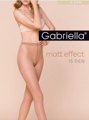 Gabriella Dita Matt 15 den 5-XL rajstopy