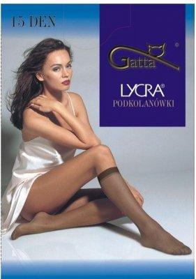 Gatta Lycra 15 den A'2 2-pack podkolanówki