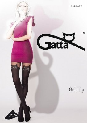 Gatta Girl-up Cat rajstopy