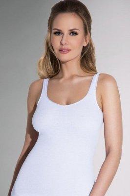 a9d018f55be444 Eldar Dafne biały koszulka - Koszulki i halki - Bielizna damska,