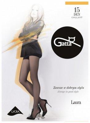Gatta Laura 15 den 6-XXL rajstopy