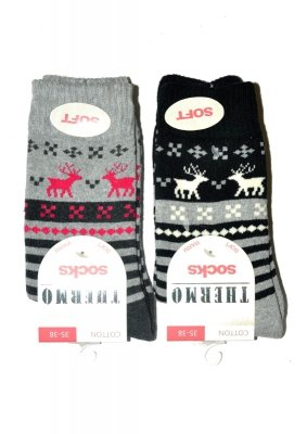 WiK art.38202 Thermo Cotton Socks skarpetki