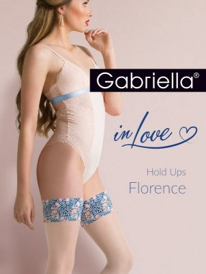 Gabriella 626 Hold Ups Florenc pończochy