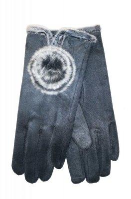 YO! R-146 Zamszowe rękawiczki