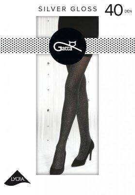Gatta Silver Gloss nr 01 40 den rajstopy