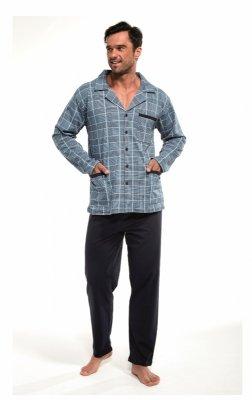 Cornette 114/41 dł/r M-2XL Rozpinana piżama męska
